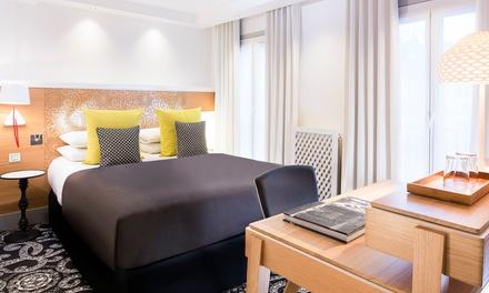 Parijs: standaard tweepersoonskamer met ontbijt voor 2 personen in Hotel Elysées 8