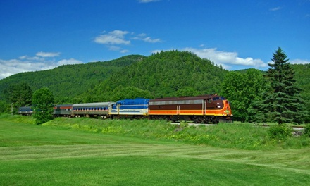 Scenic Adirondack Train Ride for Two or Four from Saratoga & North Creek Railway (Up to 45% Off)