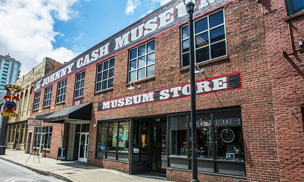 $17 for Admission for Two to The Johnny Cash Museum ($30 Value)