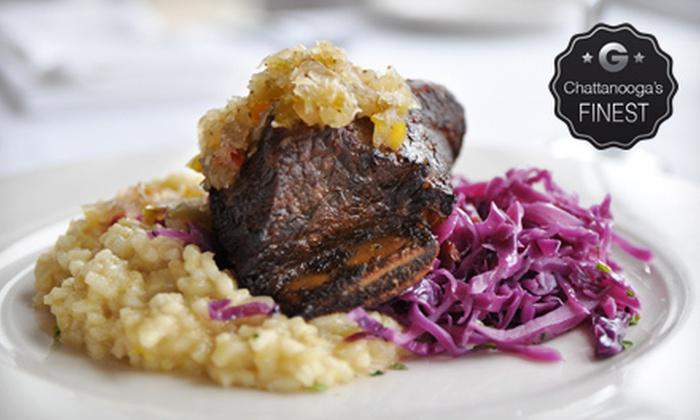 Back Inn Café - Downtown Chattanooga: $20 for $40 Worth of Global Cuisine and Drinks at Back Inn Café