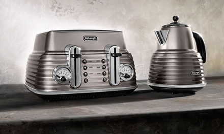 Delonghi Scultura Kettle and Toaster With Free Delivery