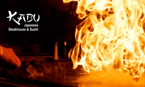 Kabu Steakhouse: $17 for $30 Worth of Japanese Cuisine at Kabu Steakhouse