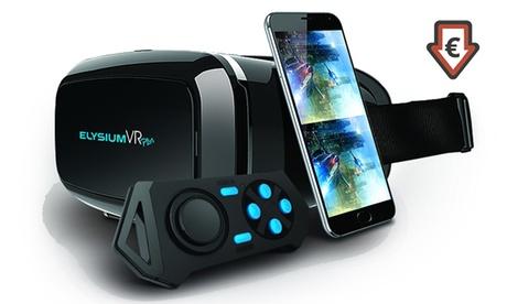 Casco de realidad virtual 3D con control remoto para Smartphones