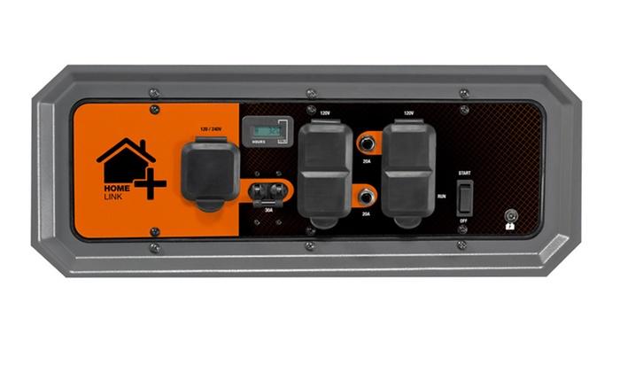 generac homelink portable generator with upgradeable. Black Bedroom Furniture Sets. Home Design Ideas