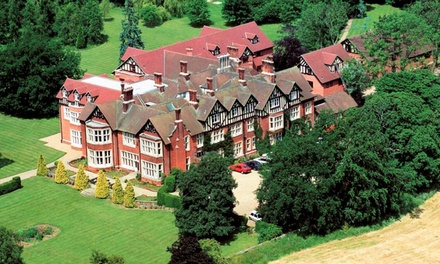 Leicestershire: 1 or 2 Nights with Breakfast, Main Course Dinner and Late CheckOut at Scalford Hall Hotel