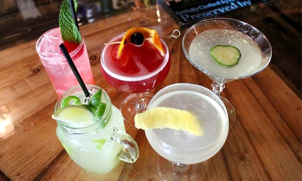 Beer, Wine, and Mixed Drinks at Cabin (Up to 52% Off)
