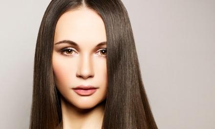 Seven Studio de Beleza – Vila Isabel: cauterização + escova + Photon Hair + finalização com argan (opção com manicure)