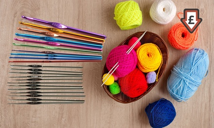 One or Two 22-Piece Crochet and Sewing Kits