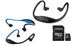 Casque sans Fil Mp3 + SD 4Go