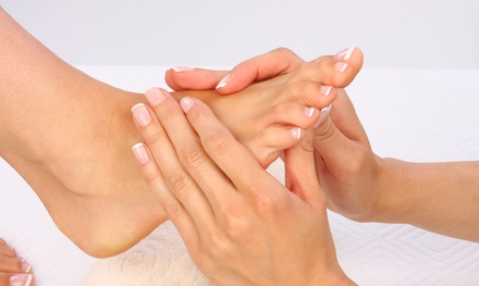 One or Three Reflexology Foot Massages at V Touch Therapy (Up to 50% Off)