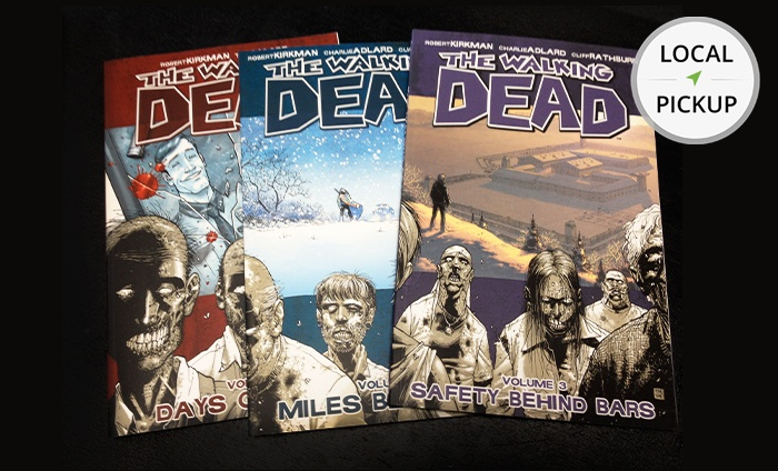Geoffrey's Comics - Inglewood: The Walking Dead Volumes 1, 2, or 3. Pick Up in Store at Geoffrey's Comics.