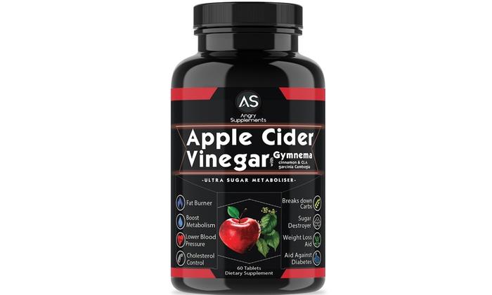 Up To 60 Off On Apple Cider Vinegar Supplement Groupon Goods