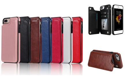 $12.95 for One Slim Wallet Case for iPhone 6/6S/6 Plus/7/8/7 Plus/8 Plus or X in Choice of Colour