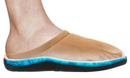 Zapatillas de gel para estar en casa por 14,99 € (56% de descuento)