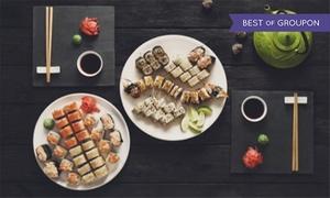 Sashimi Tokyo: Menu sushi all you can eat con sakè e accesso all'area giochi da Sashimi Tokyo (sconto fino a 47%)