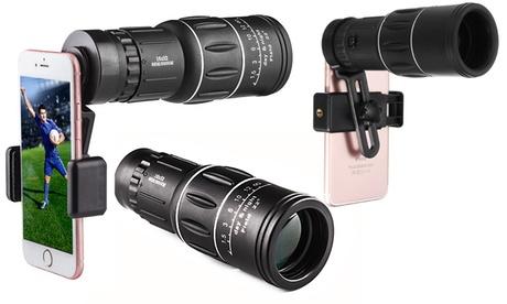 Objetivo para cámara de smartphone