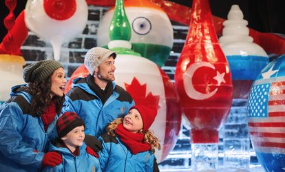 image for ICE! at Gaylord Palms featuring Christmas Around the World (November 21–January 7)
