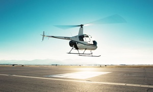 Upper Limit Aviation: 30- or 60-Minute Helicopter Flight Lesson and Ground Training Session from Upper Limit Aviation (Up to 49% Off)