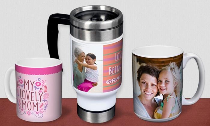 York Photo: Custom Photo Mug or Travel Mug from York Photo