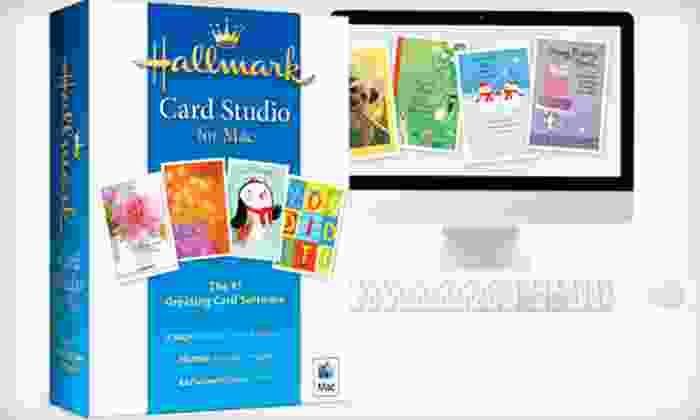Hallmark Card Studio Software: Hallmark Card Studio for Mac or PC from Hallmark Software (50% Off)