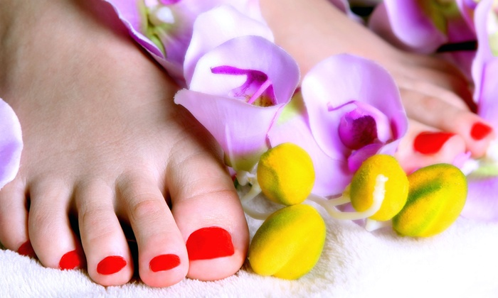 Goshia's Hair and Nail Designs - East Columbus: One or Three Spa Pedicures at Goshia's Hair and Nail Designs (Up to 59% Off)