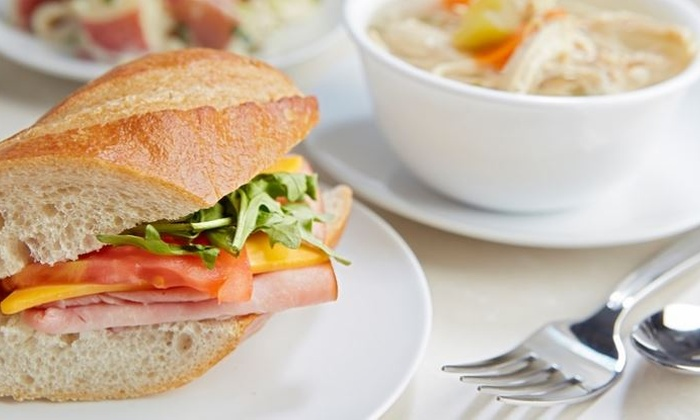 Green Market Cafe - Green Market Cafe: $34.99 for Dinner for Two at Green Market Cafe with Movie Passes ($46.48 Value)