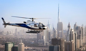 Let's Go Emirates: Helicopter Tours Across Dubai Departing from Dubai Marina for One or Two with Let's Go Emirates
