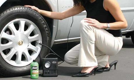 Kit de reparación de neumáticos, recarga o ambos
