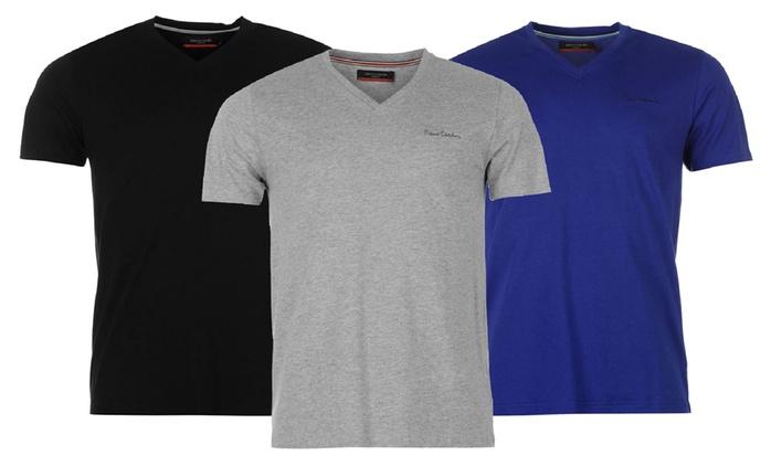 1x oder 2x Pierre Cardin T-Shirt in der Farbe nach Wahl