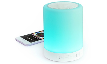 Altavoz con luz LED y Bluetooth