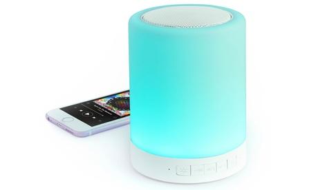 Altavoz con luz LED y Bluetooth