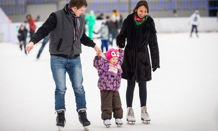 Open Ice Skating with Skate Rental for One, Two, Three, or Four at Stamford Twin Rinks (Up to 41% Off)
