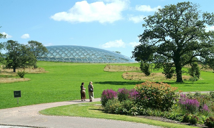 National Botanic Garden of Wales - Llanarthney: Botanic Garden Entry: Two Adults or Two Adults and Up to Four Kids to National Botanic Garden of Wales (Up to 50% Off)
