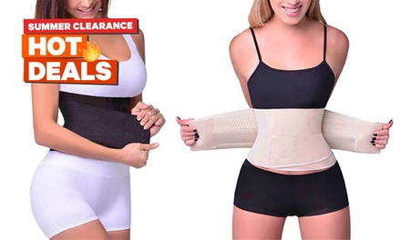 Double Compression Waist Body Shaper: One ($11) or Two ($16)