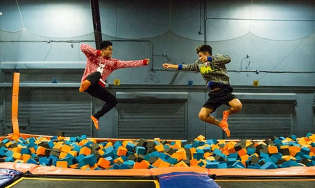 90-Minute Jump Pass or Basic Party Package at Sky Zone - Columbia (Up to 41% Off)