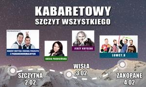 Kabaretowy Szczyt Wszystkiego: 59 zł: bilet na Kabaretowy Szczyt Wszystkiego w Szczytnej 02.02.2018