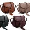 MKII Heather Saddle Handbag with Tassel
