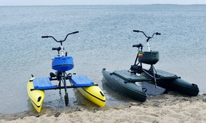 Brisbane Hydrobikes: One-Hour Hydrobike Hire for One ($15), Two ($25) or Four people ($49) at Brisbane Hydrobikes (Up to $100 Value)