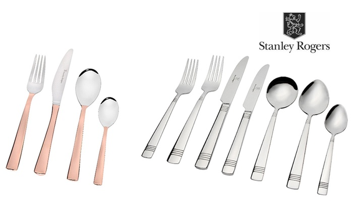 Stanley Rogers Cutlery Set Groupon Goods