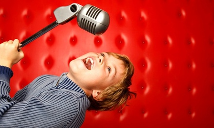 Popstar Party with DVD, Karaoke and Two Music Videos for 10 or 20 Kids at Studio Megastar (Up to 82% Off)