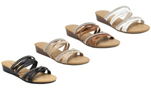 Women's Sugar Rhinestone Sandals