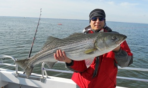 Hook Mash Charters: Half-Day Fishing Charter from Hook Mash Charters (Up to 52% Off)