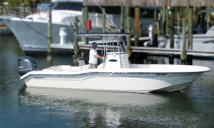 $499 for a Four-Hour Deep-Sea-Fishing Charter for Four from Max Drag Charters ($799 Value)