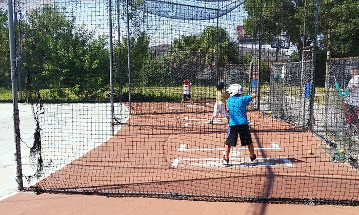 Deranged Drinking Pub and Driving Range - Tarpon Springs: Batting Cages or Driving Range for Two or Four at DeRanged Drinking Pub and Driving Range (Up to 55% Off)