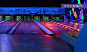 Leda Lanes: Birthday Party with Food for 10 on Any Day or Mon-Thurs, or for 15 Any Day at Leda Lanes (Up to 70% Off)