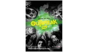 M&D's Theme Park - Motherwell: Outbreak: Zombie Survival Experience on 2-23 October at M&D's Theme Park (Up to 47% Off)