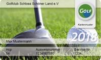 International anerkannte Greenfee-Mitgliedschaft für das Jahr 2018 bei DGM Deutsche Golf Marketing GmbH (58% sparen*)
