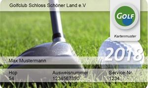 DGM Deutsche Golf Marketing GmbH: International anerkannte Greenfee-Mitgliedschaft für das Jahr 2018 bei DGM Deutsche Golf Marketing GmbH (29% sparen*)