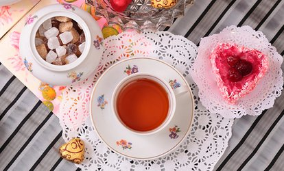 image for Donna's Petite Afternoon Tea for Two or Four at Stillwater House Tea Room (Up to 48% Off)