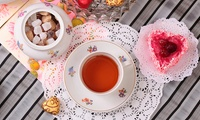 Afternoon Cream Tea For Two at The Crosby Tea Rooms (50 % Off)